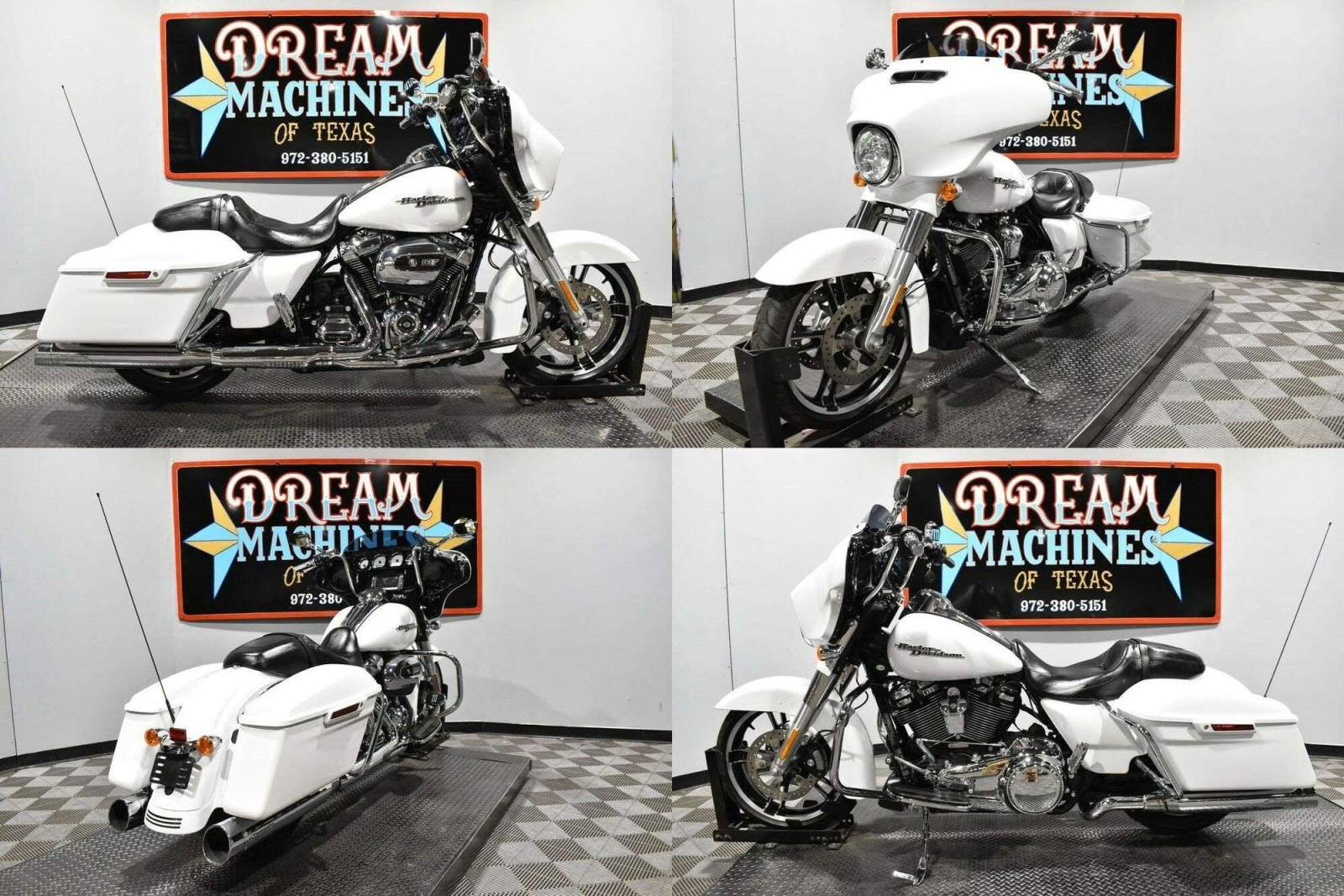 2017 Harley-Davidson FLHXS - Street Glide Special Crushed Ice Pearl used for sale