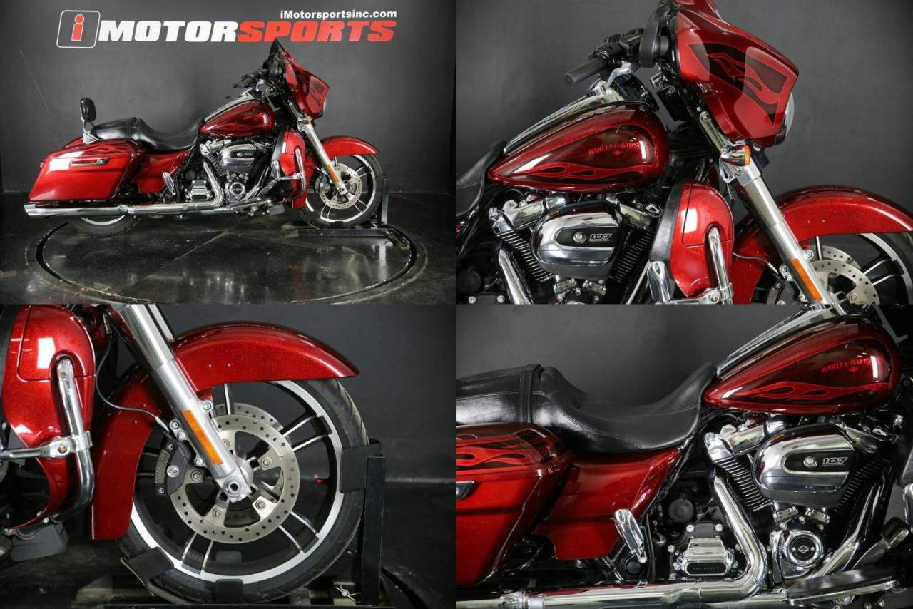 2017 Harley-Davidson FLHXS - Street Glide Special Red used for sale
