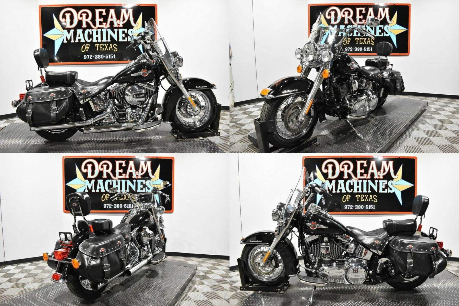 2017 Harley-Davidson FLSTC - Heritage Softail Classic Black used for sale near me