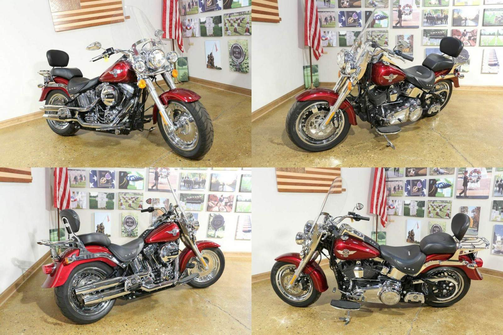 2017 Harley-Davidson FLSTF - Fat Boy® Red used for sale craigslist
