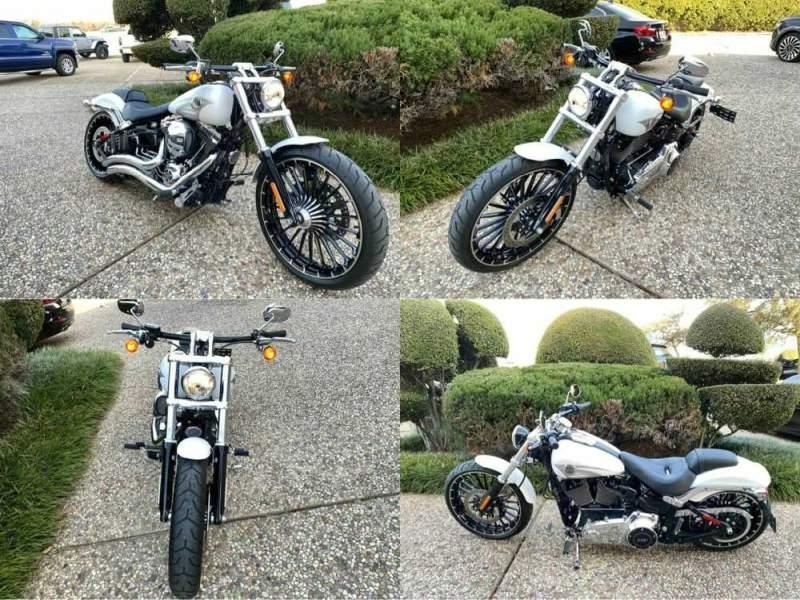 2017 Harley-Davidson FXSB Breakout White used for sale