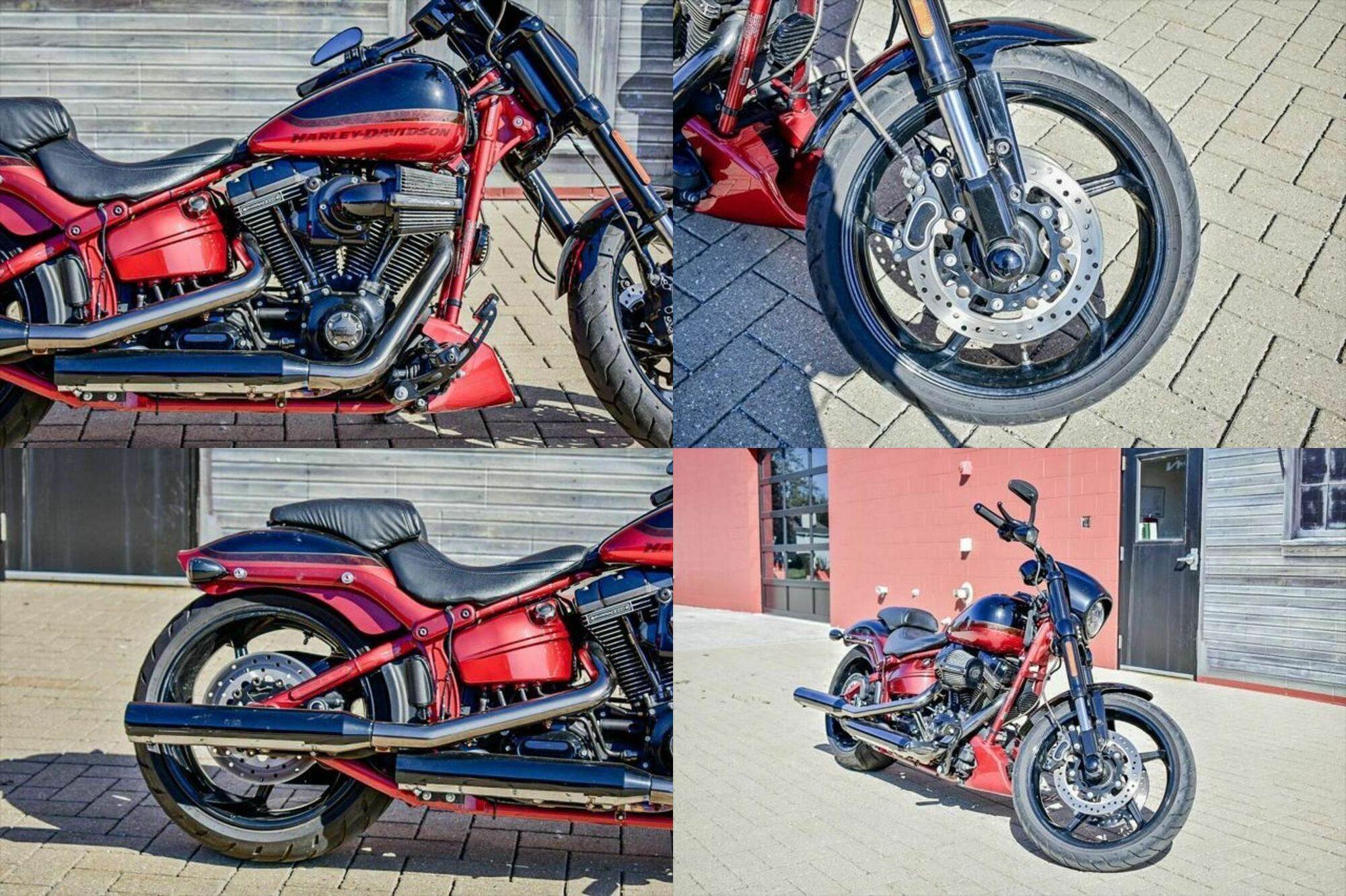 2017 Harley-Davidson FXSE - CVO™ Pro Street Breakout® -- used for sale