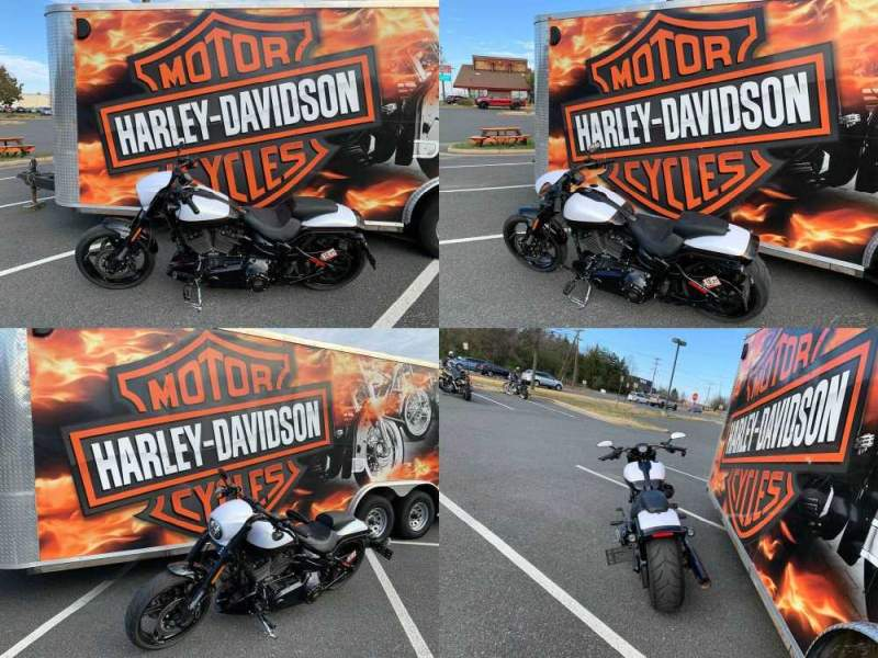 2017 Harley-Davidson Softail CVO Pro Street Breakout White Gold Pearl / Starfire Black used for sale