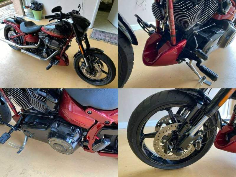 2017 Harley-Davidson Softail Screamin' Eagle CVO Breakout Pro Street Stage III Scorched Apple/Starfire Black used for sale near me