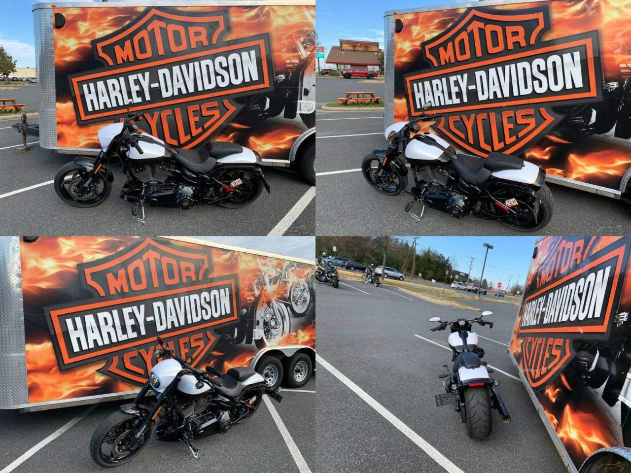 2017 Harley-Davidson Softail CVO Pro Street Breakout White Gold Pearl / Starfire Black used for sale near me