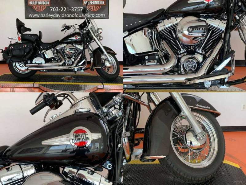 2017 Harley-Davidson Softail Heritage Classic Black Quartz used for sale