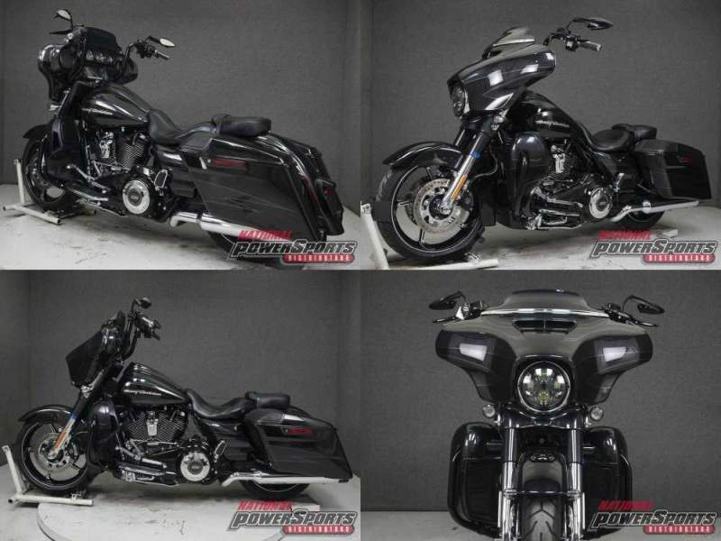 2017 Harley-Davidson Touring DARK SLATE CANDY/ARCTIC BLACK used for sale