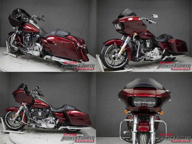 2017 Harley-Davidson Touring VELOCITY RED SUNGLO used for sale