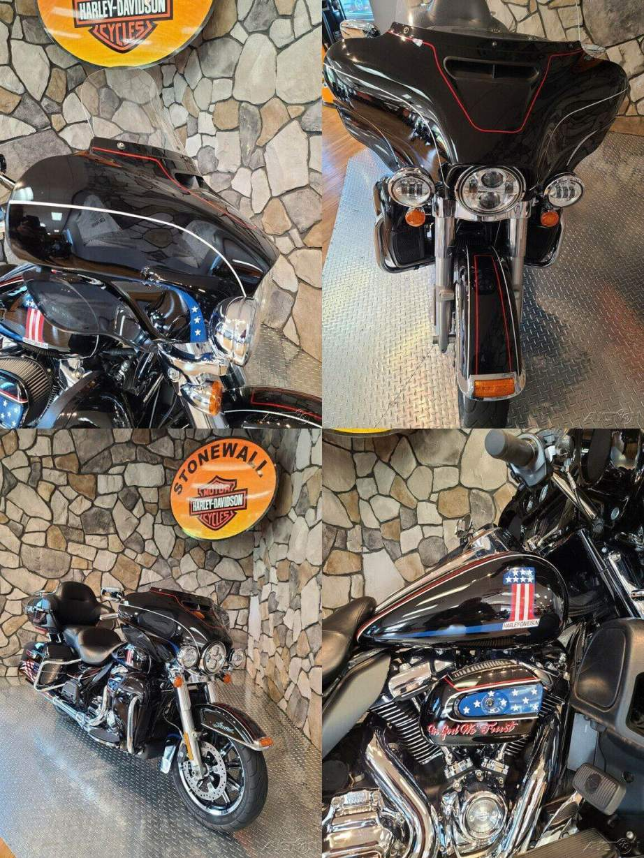 2017 Harley-Davidson Touring Vivid Black (Peace Officer Special Edition) used for sale
