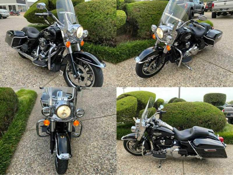 2017 Harley-Davidson Touring FLHR Black used for sale craigslist