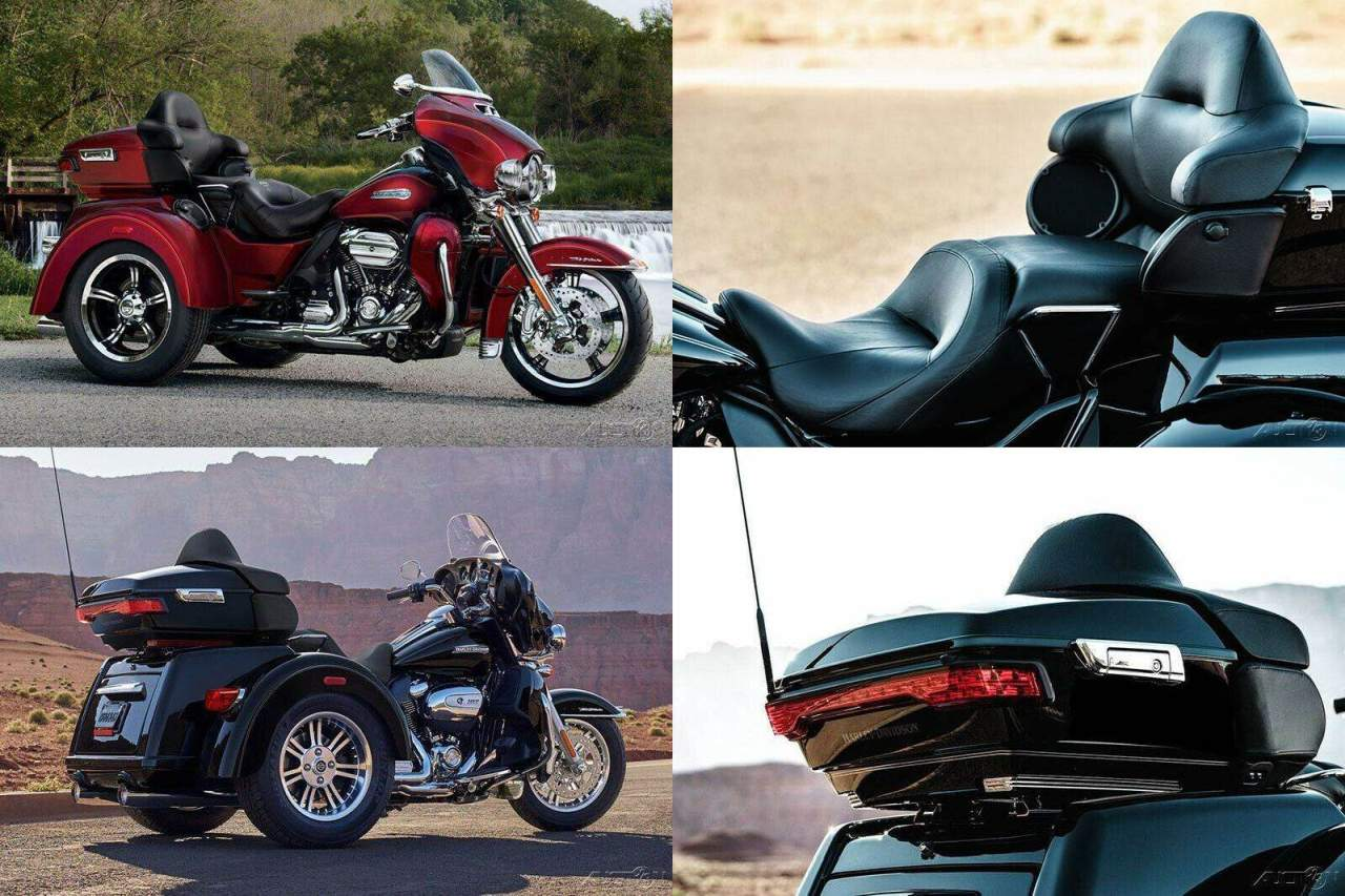 2017 Harley-Davidson Trike Tri Glide Ultra Mysterious Red Sunglo / Velocity Red Sunglo used for sale