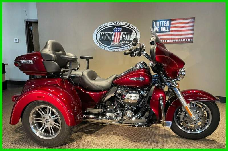 2017 Harley-Davidson Trike Tri Glide® Ultra Mysterious Red & Velocity Red used for sale craigslist
