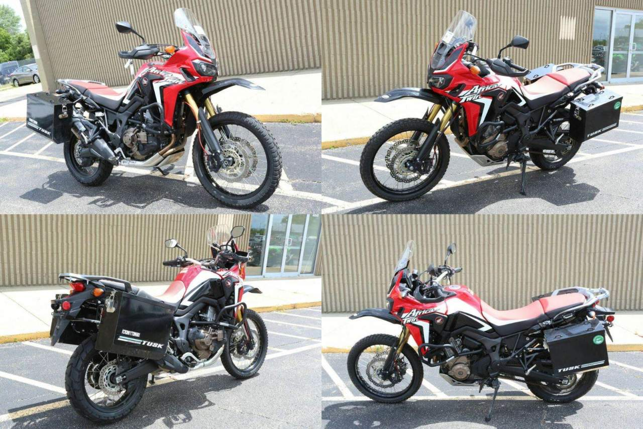 2017 Honda Africa Twin CRF1000L DCT Red used for sale