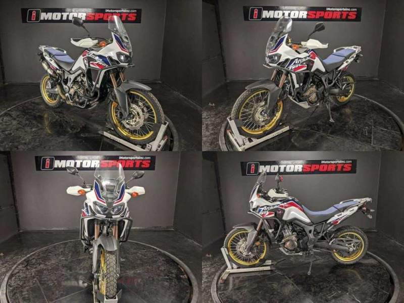 2017 Honda Africa Twin CRF1000L DCT WHI used for sale