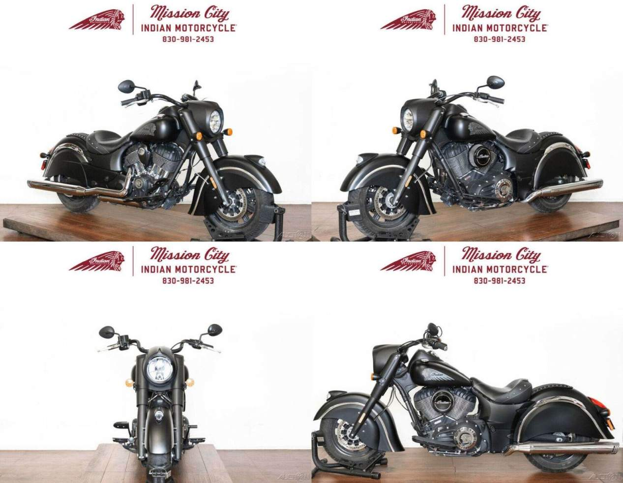 2017 Indian Chief Dark Horse Thunder Black Smoke Thunder Black Smoke used for sale near me