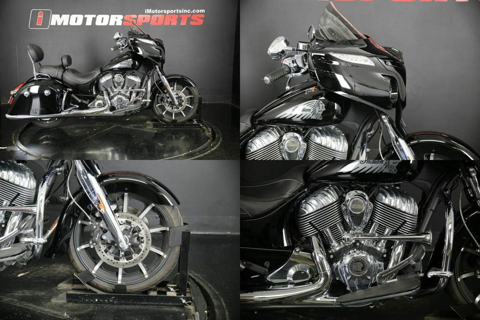 2017 Indian Chieftain Limited Thunder Black   for sale craigslist
