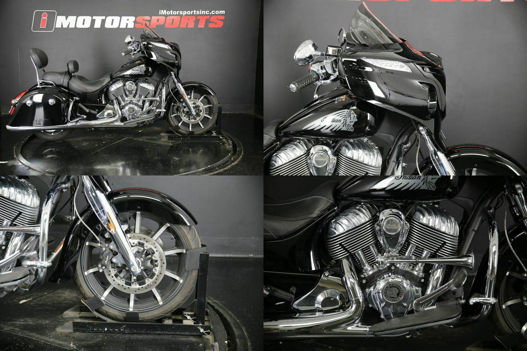 2017 Indian Chieftain Limited Thunder Black -- used for sale craigslist
