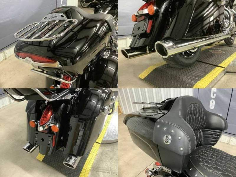 2017 Indian Roadmaster® Thunder Black Black used for sale