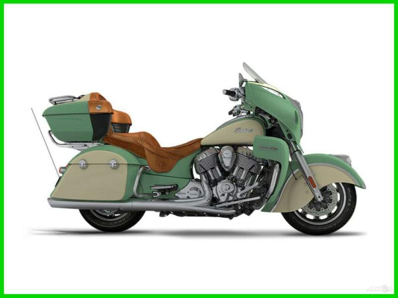 2017 Indian Roadmaster Willow Green Over Ivory Cream GREEN/CREAM used for sale