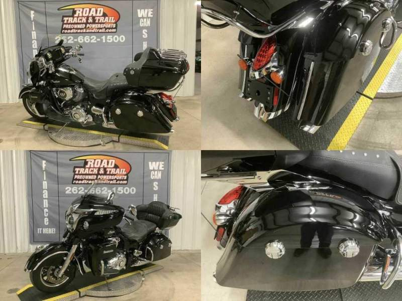 2017 Indian Roadmaster® Thunder Black Black used for sale craigslist