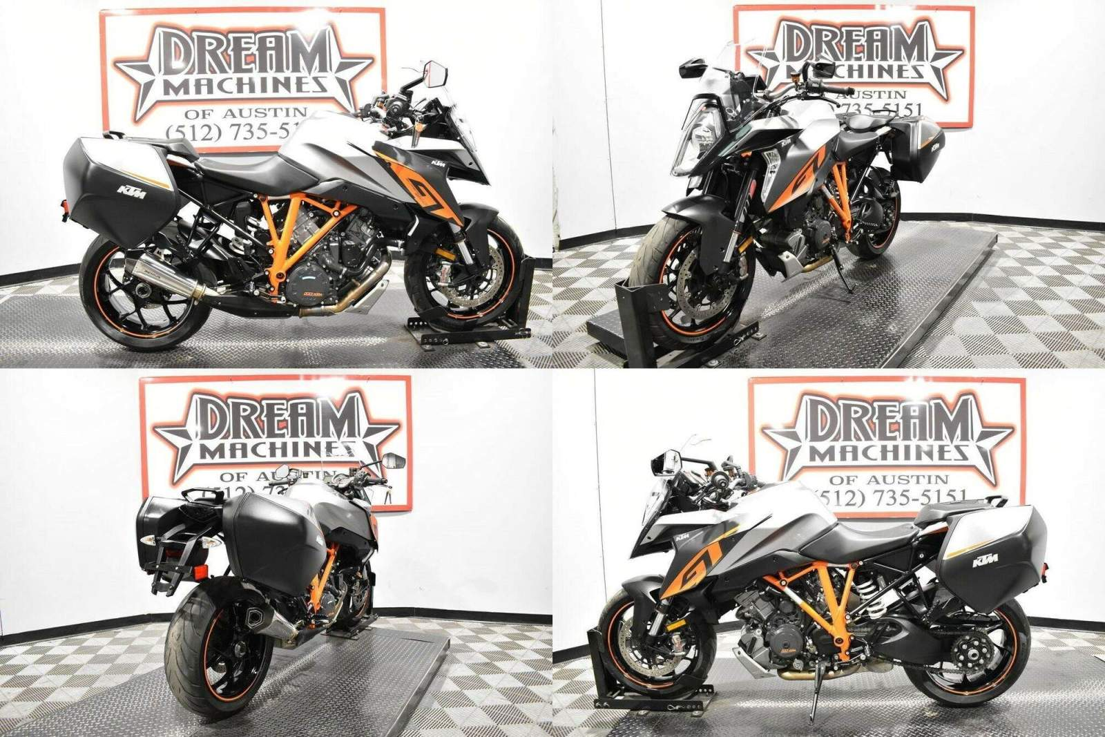 2017 KTM 1290 Super Duke GT Silver used for sale