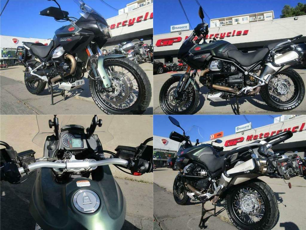 2017 Moto Guzzi Stelvio 1200 NTX Green used for sale craigslist