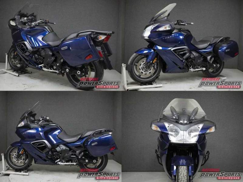 2017 Triumph Trophy PACIFIC BLUE used for sale craigslist