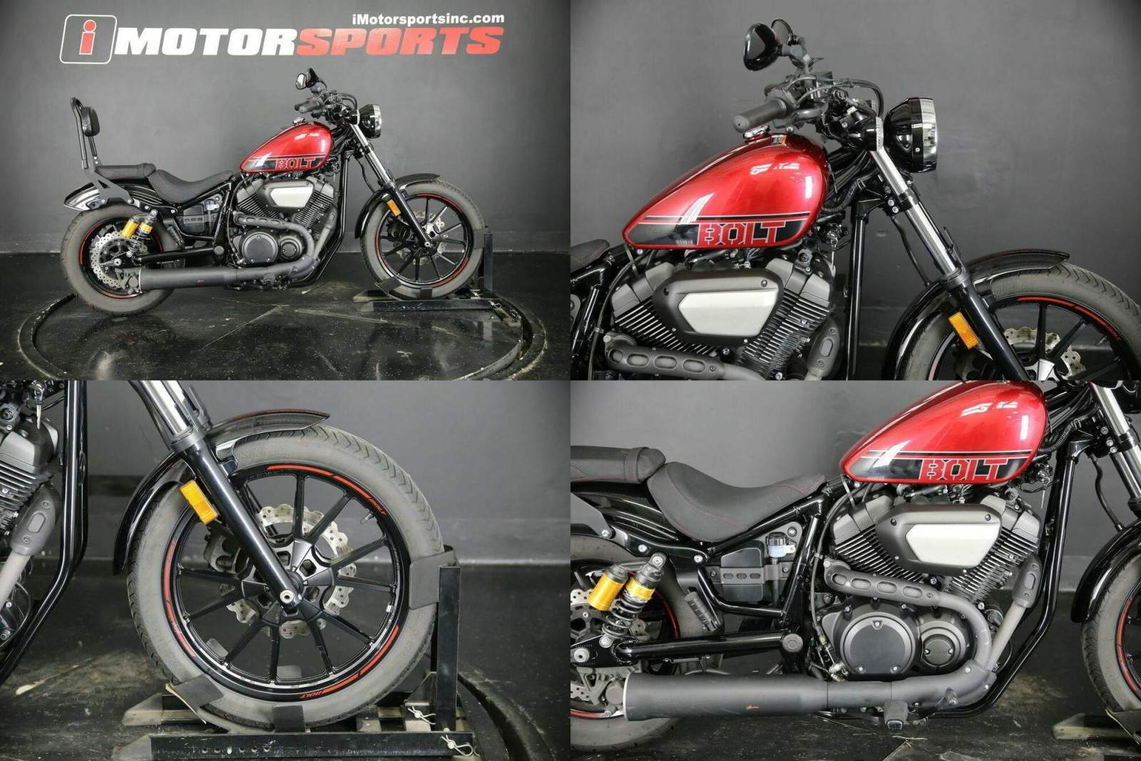 2017 Yamaha Bolt Red used for sale craigslist