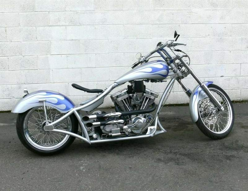 2018 Custom Built Motorcycles Chopper Silver used for sale near me