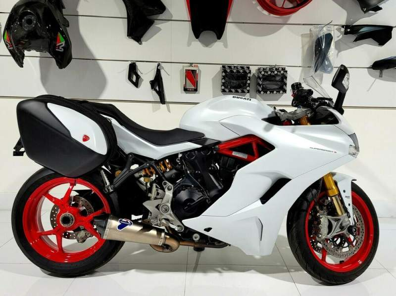 2018 Ducati Supersport White Silk used for sale