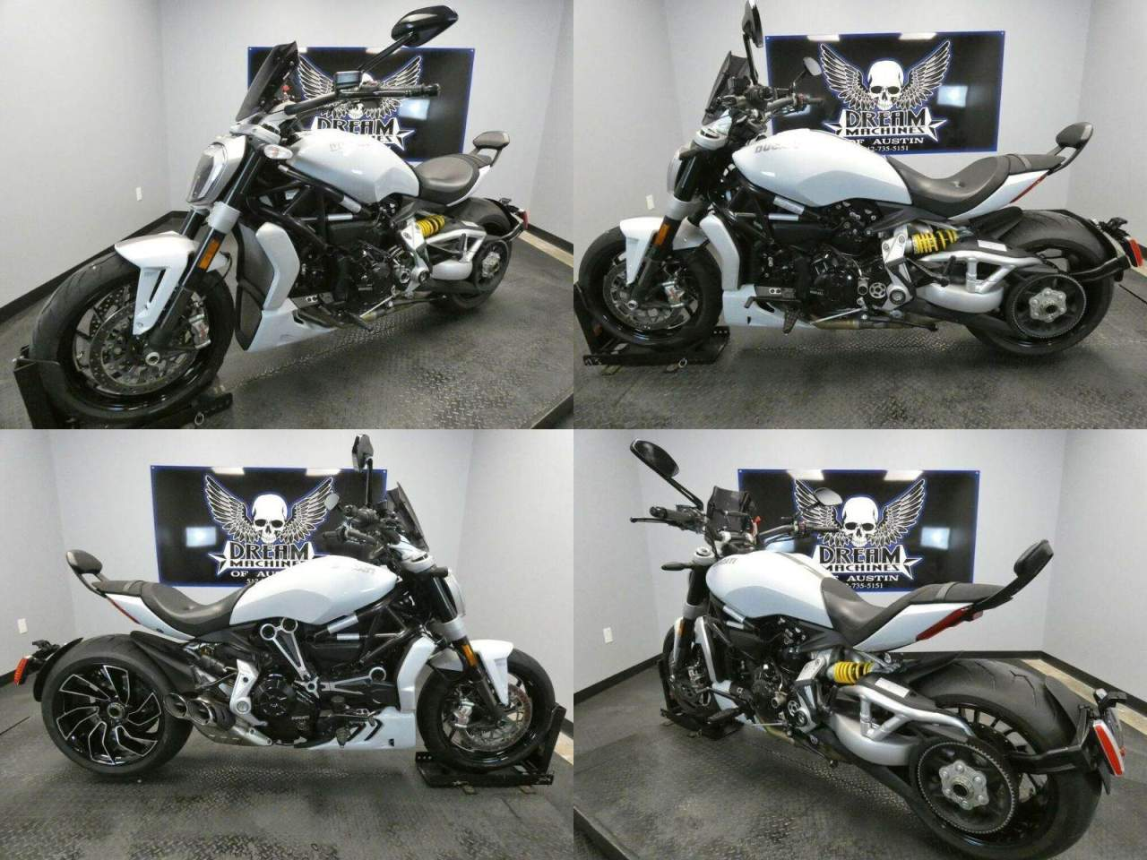 2018 Ducati X Diavel S White White used for sale