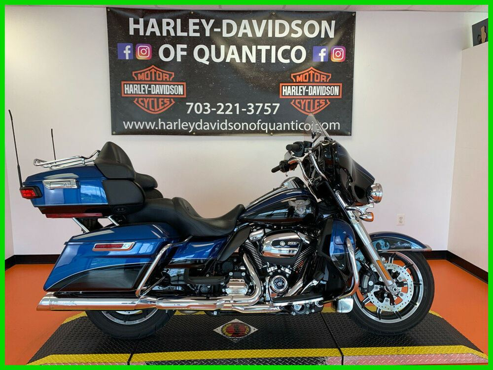 2018 Harley-Davidson 115Th Anniversary Ultra Limited 115th Anniversary Legend Blue / Vivid Black used for sale near me