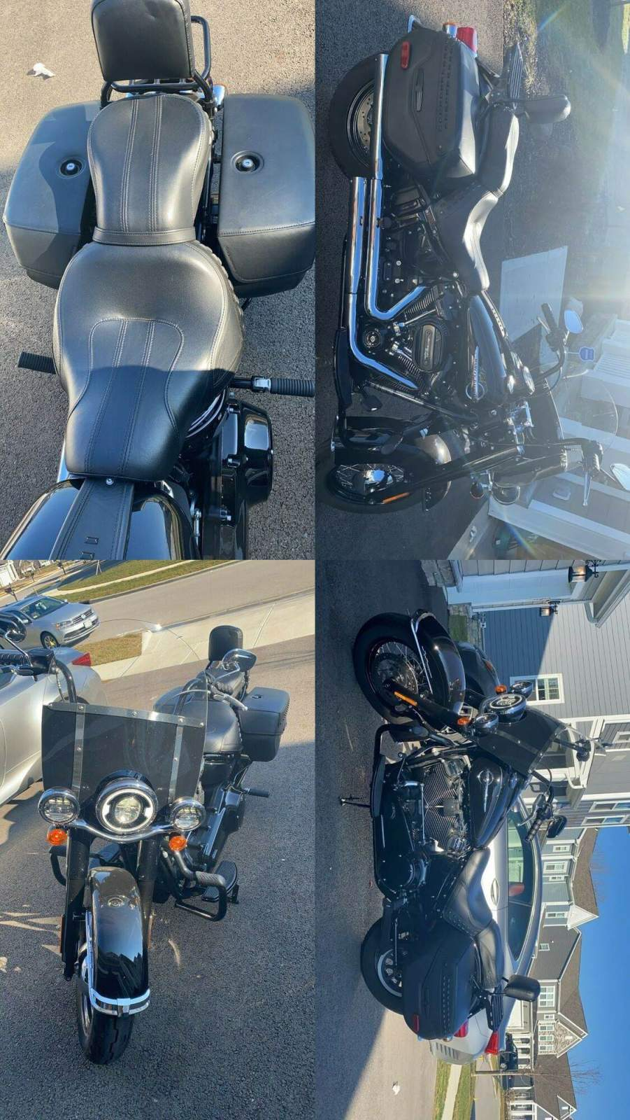 2018 Harley-Davidson FLHC Heritage Softail Classic 107 Black used for sale