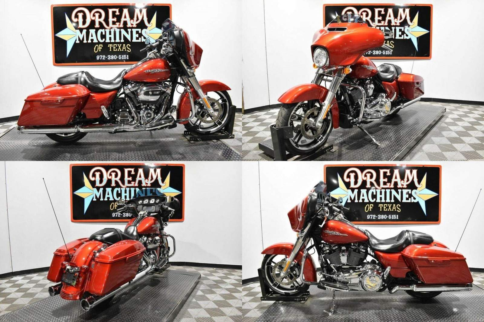 2018 Harley-Davidson FLHX - Street Glide Red used for sale craigslist