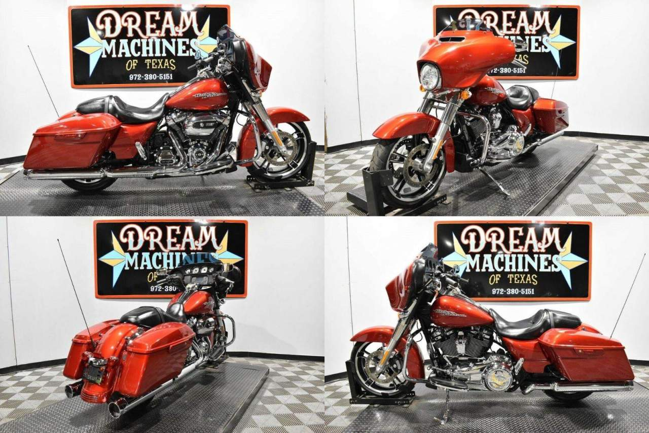 2018 Harley-Davidson FLHX - Street Glide Red used for sale near me