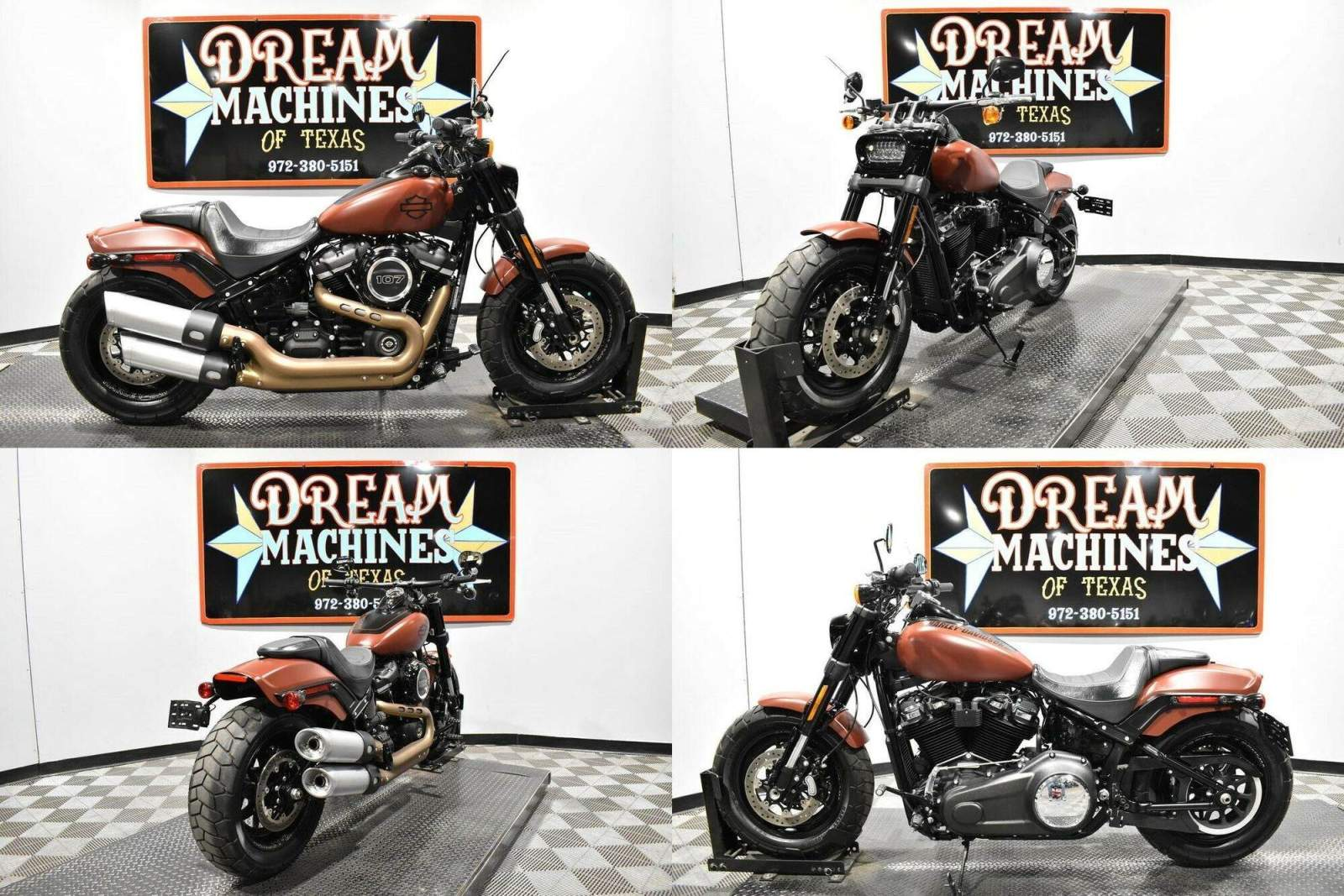 2018 Harley-Davidson FXFB - Softail Fat Bob Red used for sale