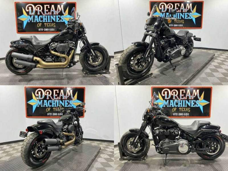 2018 Harley-Davidson FXFBS - Softail Fat Bob 114 Black used for sale craigslist