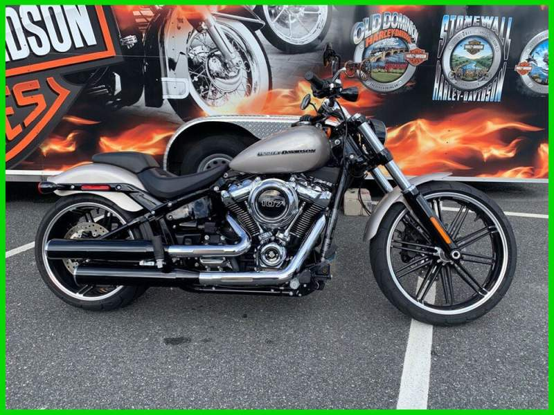2018 Harley-Davidson Softail Breakout 107 Silver Fortune used for sale near me