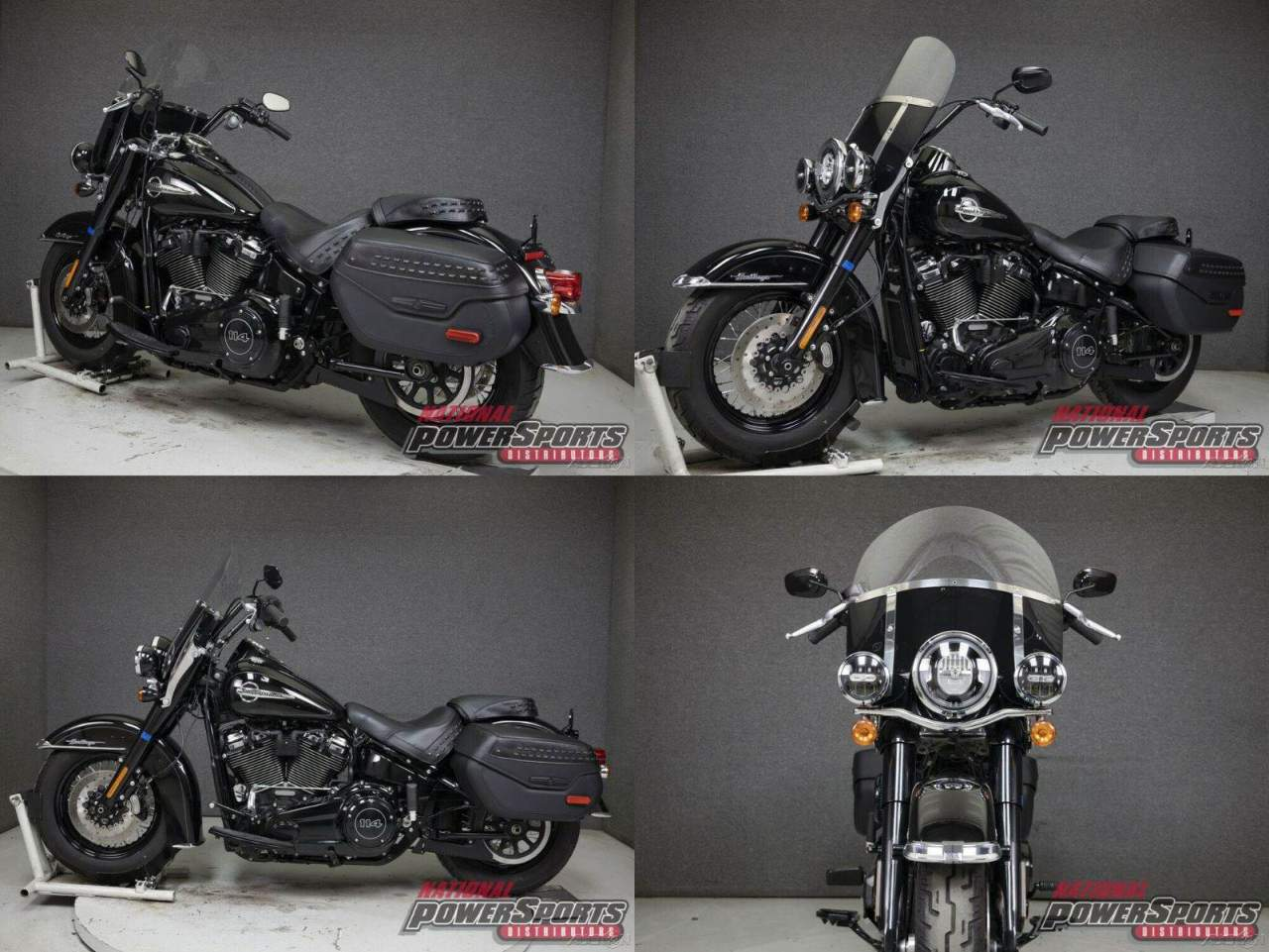 2018 Harley-Davidson Softail FLHCS HERITAGE CLASSIC WABS VIVID BLACK used for sale