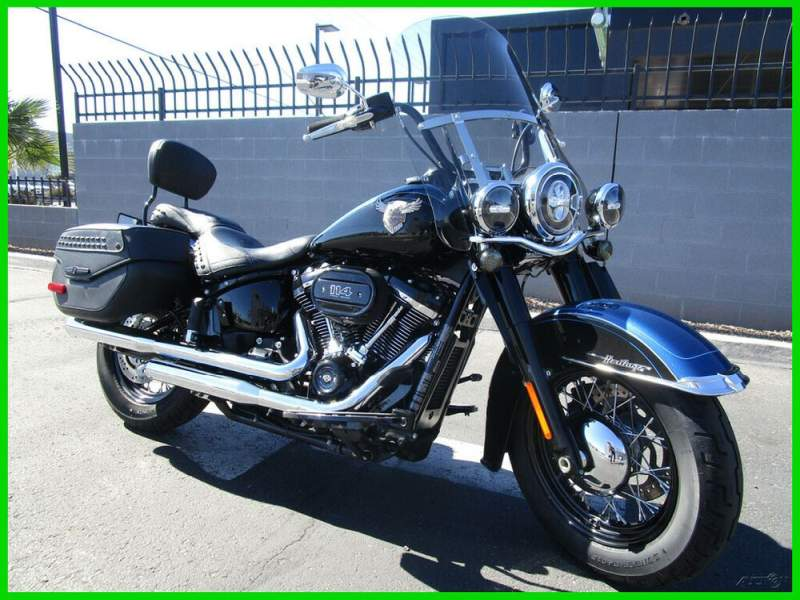 2018 Harley-Davidson Softail 115th Anniversary Black / Blue Anniversary used for sale