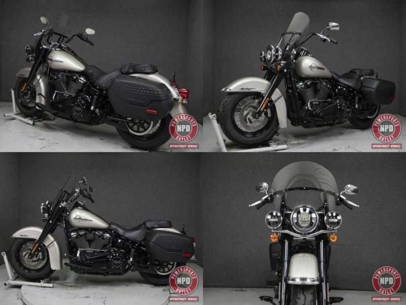 2018 Harley-Davidson Softail FLHCS HERITAGE CLASSIC WABS SILVER FORTUNE used for sale