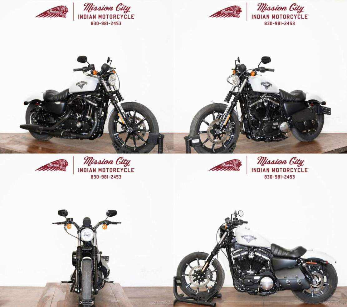 2018 Harley-Davidson Sportster XL883N - Iron 883 Bonneville Salt Denim used for sale near me