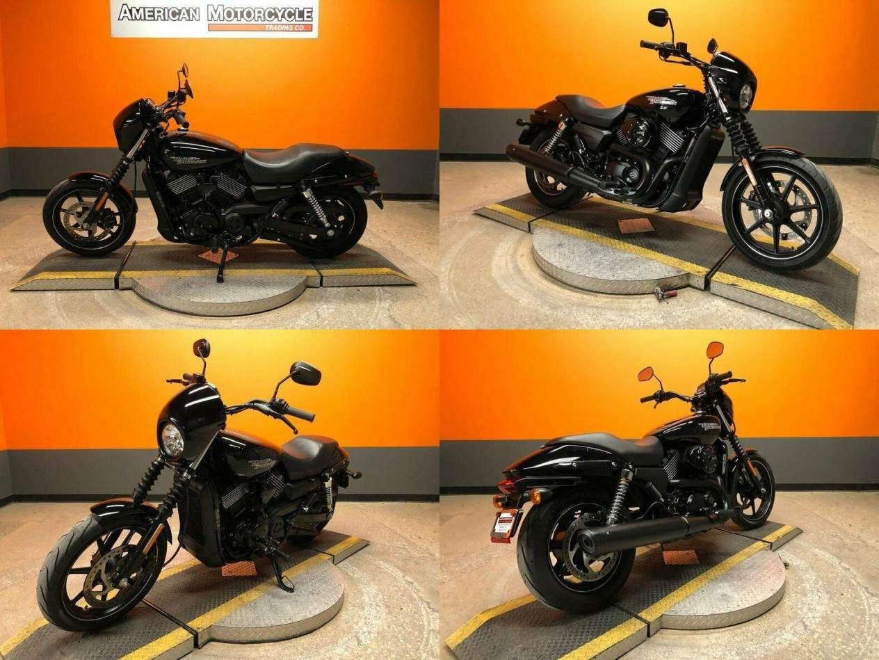 2018 Harley-Davidson Street 750 Black used for sale craigslist