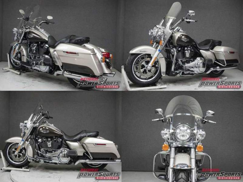 2018 Harley-Davidson Touring FLHR ROAD KING WABS SILVER FORTUNE/SUMATRA BROWN used for sale craigslist