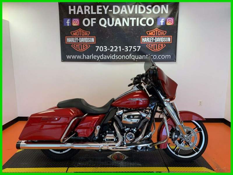 2018 Harley-Davidson Touring Wicked Red used for sale craigslist