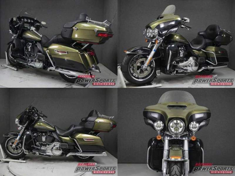 2018 Harley-Davidson Touring FLHTK ELECTRA GLIDE ULTRA LIMITED WABS OLIVE GOLD/BLACK TEMPEST used for sale
