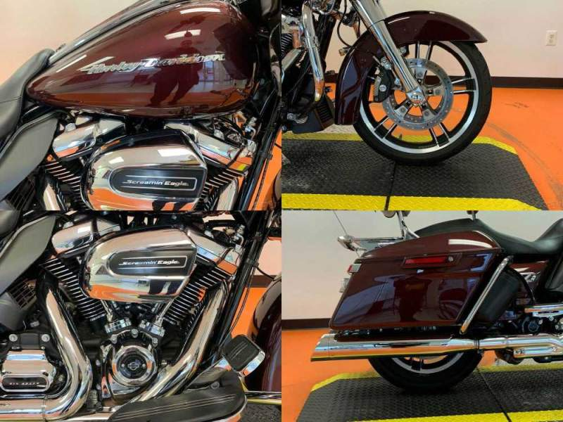 2018 Harley-Davidson Touring Twisted Cherry used for sale craigslist