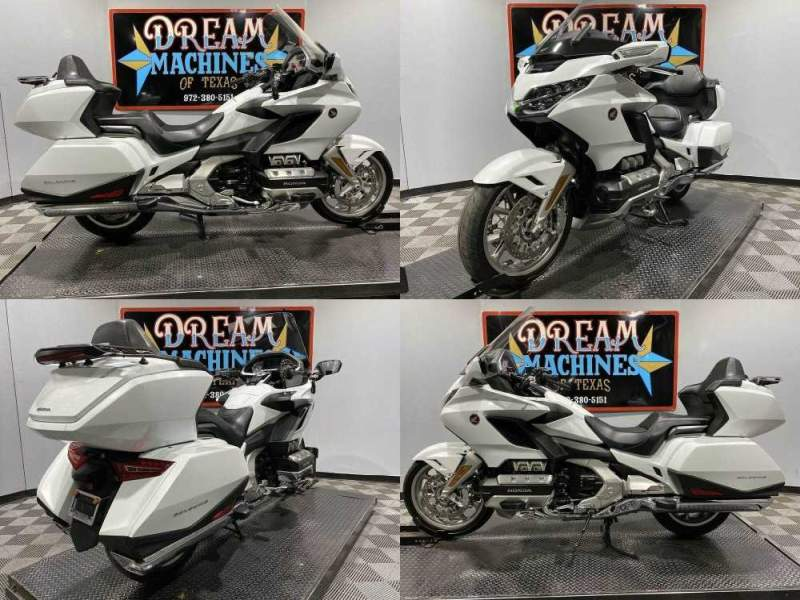 2018 Honda Gold Wing Tour White used for sale craigslist