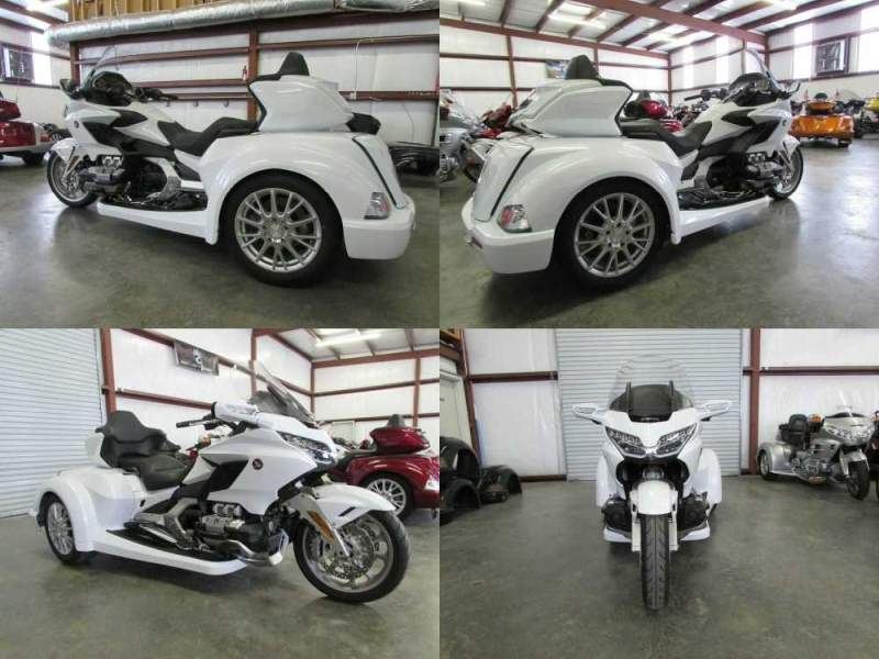 2018 Honda Gold Wing WHITE used for sale craigslist
