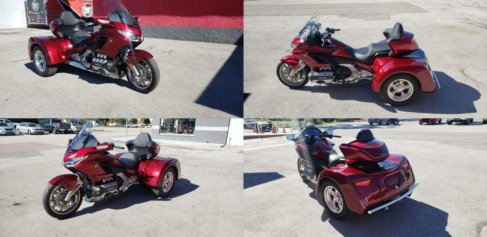 2018 Honda Gold Wing Red used for sale